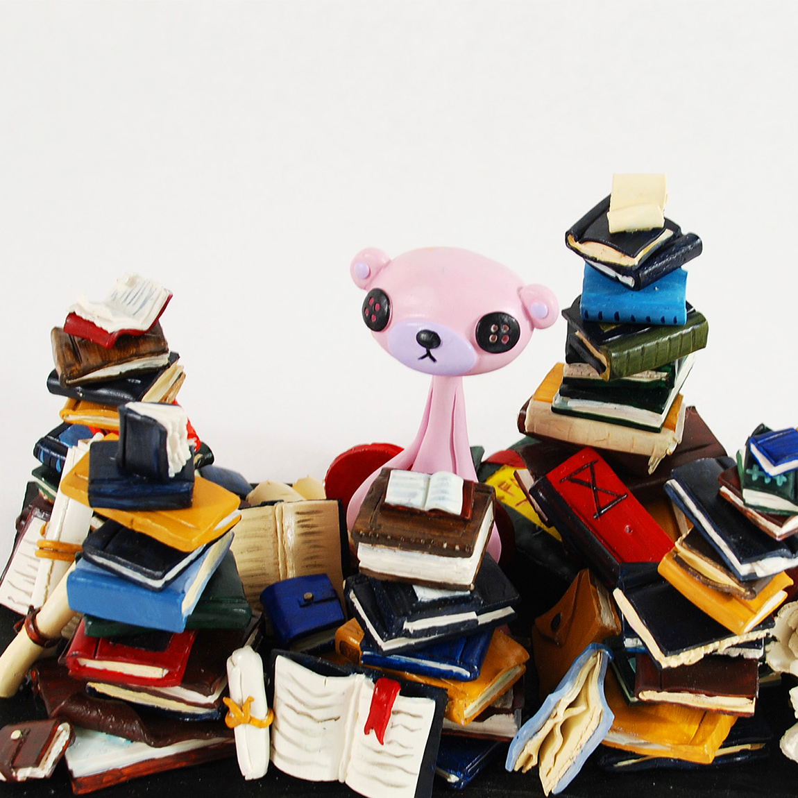 I Need More Books - Sculpture